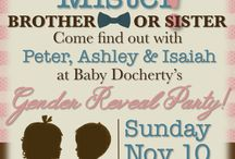Party Invites / So you're expecting! It's time to share the news with your loved ones. We've pinned awesome ideas for your baby shower or gender reveal invitations.