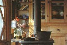 Vintage Kitchens
