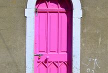 Pink Doors / by Meryl Gallagher King