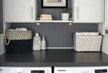 Laundry space / by Kristen Blodgett