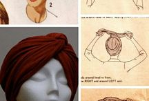 Turbantes. / Turbans. I adore and hope you like and enjoy the different ways to look gorgeous!!
