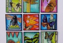 Inchies, ATCs and Fabric Postcards / Inchies and Fabric Postcards / by Wanda Bankson