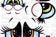 olhos diferentes