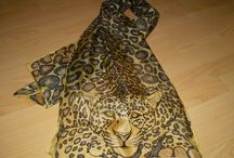 Painted silk scarves and shawls / Painted silk scarves and shawls by Juliana Hamajdak