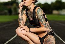 Сочетания татуировок