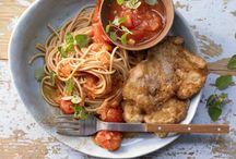 Warme und kalte Gerichte / Geflügel