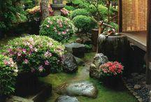 zen  garden  japon