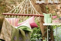 Garden spaces / What you need for the outside of your home.  Beautiful planting and landscaping