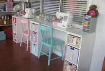 Sewing room / by Beverly Bevill