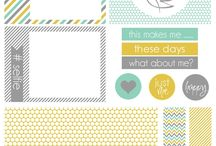 Printables-Project Life / by Michelle le Roux