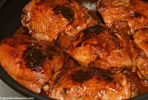 BBQ CHICKEN  IN POT BBQ