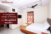 Lotus Grand - Rooms / A #Delightful range of #Rooms with thoughtful touches.