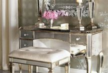 Mirrored furnitures / best home decoration ideas