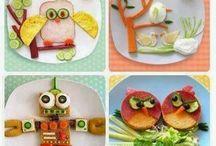 pratos coloridos para crianças