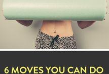 move: roller / foam roller excercises