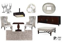 Fancy and Formal Dining- Eco Friendly Interior Design DIY / Here's a fun and quick DIY I just wrapped up for a fancy couple that wanted to transform their dining room into something formal. The space is small in scale but in need of grandeur components to get this ornate look. I was able to accomplish this by use of dark finishes offset with glittery accents and lots of formal details to give it that fancy factor.   Contact me today to get your very own eco-friendly DIY design… http://www.pizzigatidesigns.com/contact.html.
