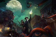 Lovecraft/ Arkham horror
