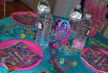 Glamour Girl Dance Party  / What Was Color Inspiration? It was Purple, Turquoise and of course Pink :)