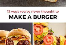 recepten Hamburgers