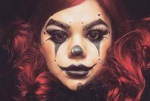 Halloweenský makeup