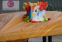 My little pony party by @createdtodesign