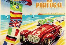 Portugal Car Racing Posters