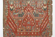 motif ethnic tapis lampung - traditional woven