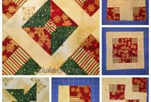 Precortados / Quilts y proyectos realizaados con pacs de telas precortaos, como charms pacs, jellyroll o layers cakes