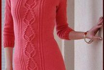 вязаные платья и не только