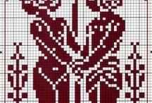 WGC - Mennesker / Wayuu, Graphghans, Cross Stitch Pattern