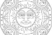 ArtTherapy / Meditare Colorando...Idee dal Web