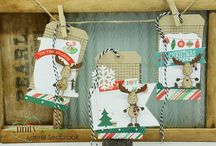 TAGS / Christmas Tags  Vintage Tags  Invitation Tags