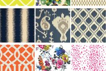 fabrics/designs/rugs/throws / by Mindy Creel
