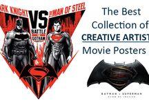 Batman v Superman: Dawn of Justice Movie Posters