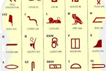 Alphabets, Symbols, and Runes / Lovely symbols of human understanding  / by John Melody