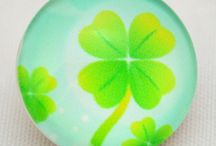 St Patrick's Day, Clover, Green / Accessories with a clover, St. Patrick's Day or Irish theme