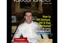 ValuedMarketer Magazine Issuses / Online marketing is relatively easy and very powerful. Once you know what to do and how to do it, you can be an effective online marketer. ValuedMarketer Magazine delivers online marketing content and solutions that you can use to become a successful Internet entrepreneur. We provide industry-leading information, training, and resources for aspiring entrepreneurs, marketers, small business owners and organizations that want to effectively market online.