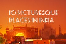 10 Picturesque places in #India / 10 most beautiful places in India that makes you fall in love with the country. Make sure you visit these places while #VolunteeringinIndia