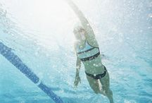 Swimming workouts / by Becky Lampman
