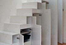 Rangement / Rangement sous escalier