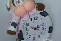 Relógios.