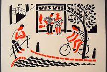 Stencilprints - Eddy Varekamp / Stencilprints made by Eddy Varekamp