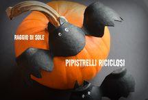 Halloween 2015 / Creazioni handmade per Halloween semplici e veloci da realizzare! Per altre idee segiumi su: http://raggiodisolecreazioni.blogspot.it