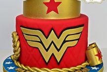 bolo mulher maravilha