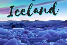 Travel | Iceland / Pins featuring all the must-do and must-see things in #Iceland.