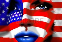 4th of july - USA Flags & Co. by Bluedarkart / by Bluedarkat Lem