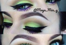 Wild eye make up / by Bonnie Alexander