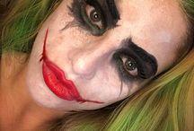 joker makeup <3 april 22nd
