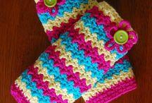 Crochet baby legwarmers