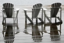 Adirondack Chairs / by Kimberly Hamner